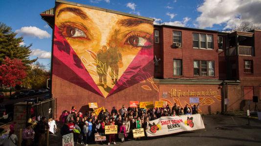 32 B Mural In Allison Hill- Photo Credit Dave Tavani