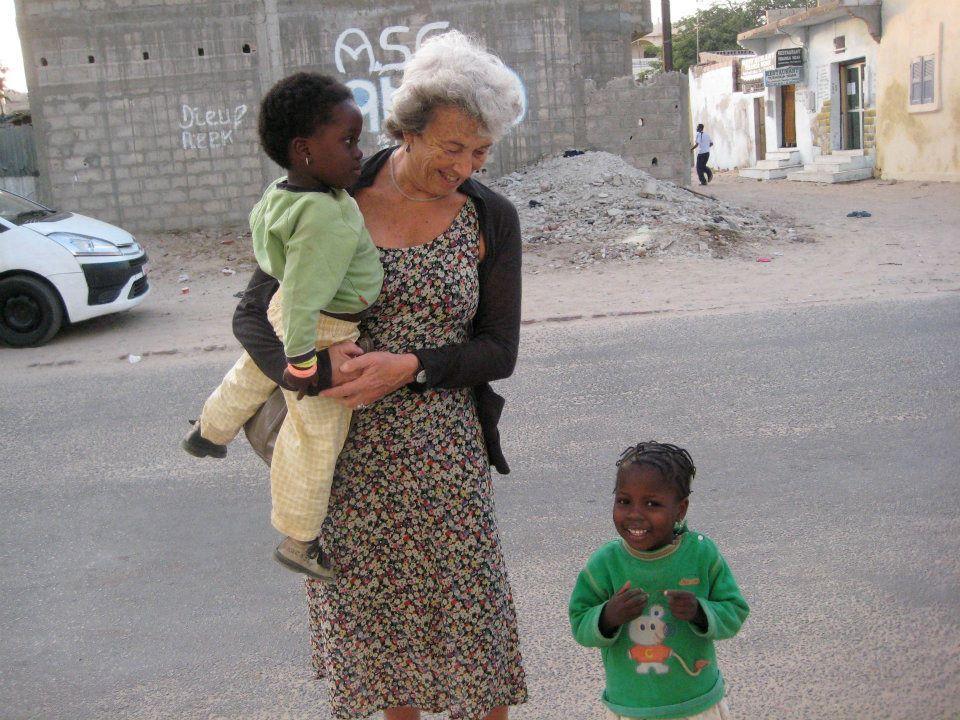 senegal con bambini