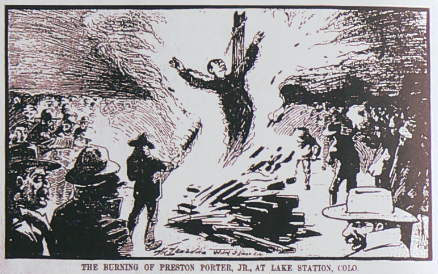 preston-porter-lynching-burned-stake-denver-times