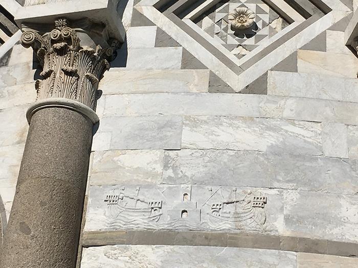 13_IMG_1281 portus pisanus bassorilievo porto pisa torre medioevo