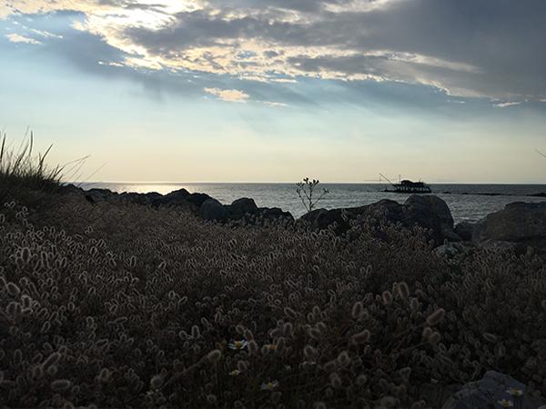 14_boccadarno marina di pisa tramonto panorama