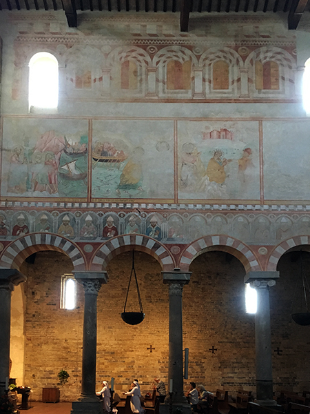 3_san pietro in grado chiesa pisa interno affreschi