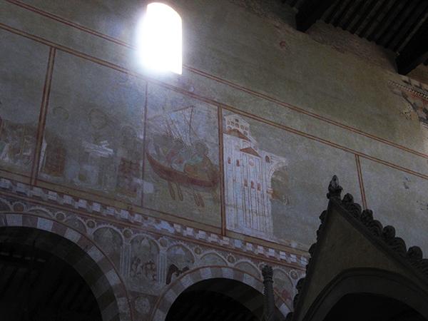 5_san pietro in grado pisa affreschi interno