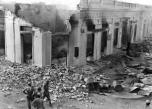 La destruzione durante Il Bogotazo, 1948_