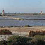 Salt ponds south of Trapani