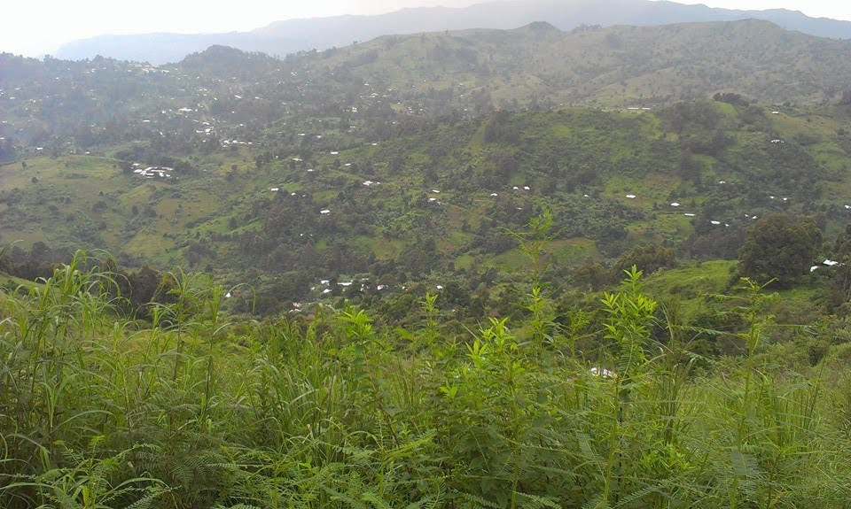 Mbesa Village View from Njinagwa Mountain